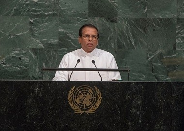 Address by President Maithripala Sirsena at the 72nd Session of the United Nations General Assembly