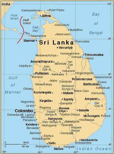 Sri Lanka Karte Zum Drucken.Land Und Leute