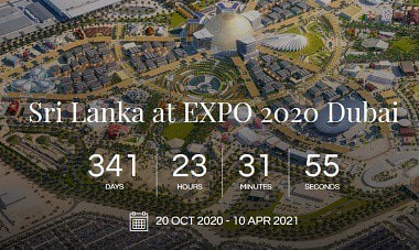 Sri Lanka at the EXPO 2020 in Dubai